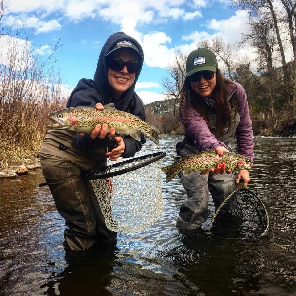 Aspen Ladies Fly Fishing on the Roaring Fork